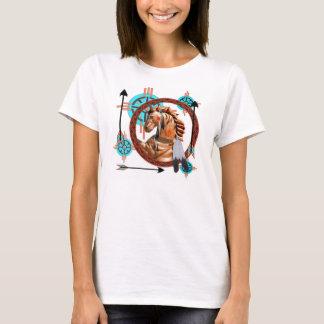 Painted Horse Southwester Design T-Shirt