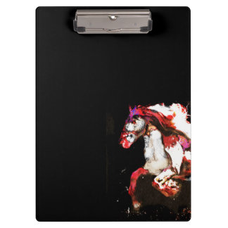 Painted Irish Gypsy Horse (2) Clipboard