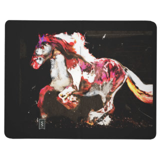 Painted Irish Gypsy Horse (2) Journal