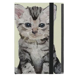Painted Kitten Ipad Cases