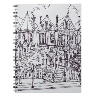 Painted Ladies | San Francisco, California Notebook