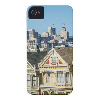 painted ladies san francisco Case-Mate iPhone 4 case