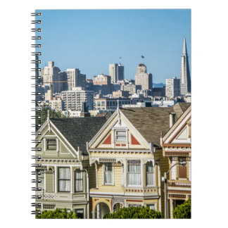 painted ladies san francisco notebook