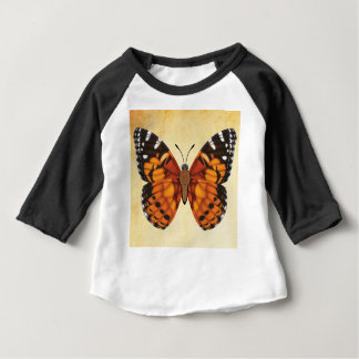 Painted Lady Butterfly Baby T-Shirt