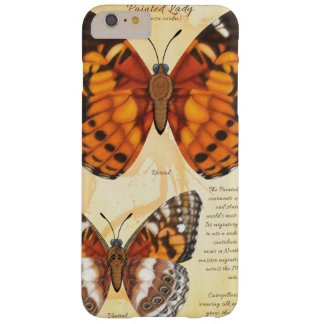 Painted Lady Butterfly Barely There iPhone 6 Plus Case