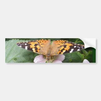 Painted Lady butterfly ~ bumper Bumper Sticker