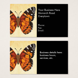Painted Lady Butterfly Business Card