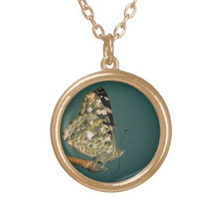 Painted Lady Butterfly Close-up Custom Jewelry