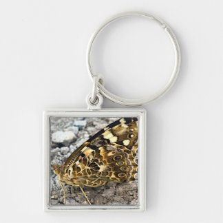Painted Lady Butterfly Key Ring