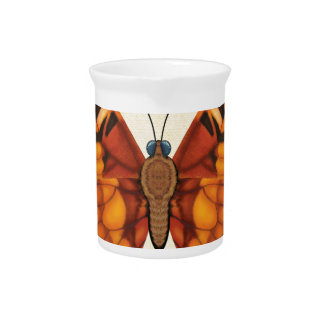 Painted Lady Butterfly Pitcher