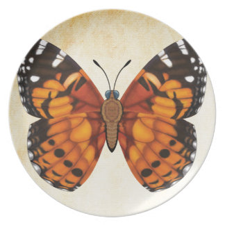 Painted Lady Butterfly Plate