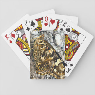 Painted Lady Butterfly Playing Cards