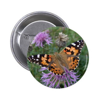 Painted Lady Button