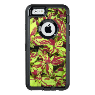 Painted Lady Coleus OtterBox Defender iPhone Case