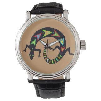Painted Lizard Watch
