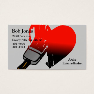 Painted Love Set Business Card