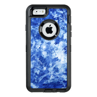 painted marble OtterBox defender iPhone case