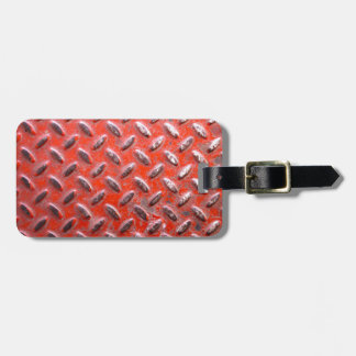 Painted Metal Grunge Texture Luggage Tag