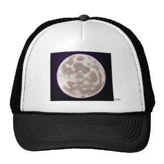 Painted Moon Mesh Hat