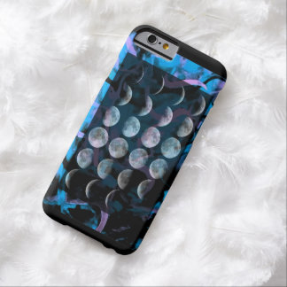Painted Moon Phase Barely There iPhone 6 Case