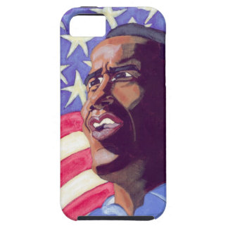 Painted Obama Iphone case Tough iPhone 5 Case