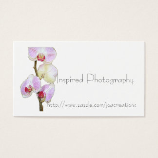 Painted Orchid Business Card