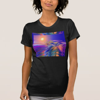 Painted Palm Trees T Shirts