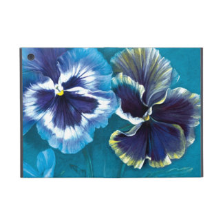 Painted pansies ipad air powis case cover for iPad mini