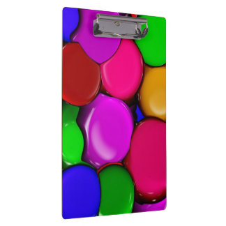 Painted Pebbles Doodle Clipboard