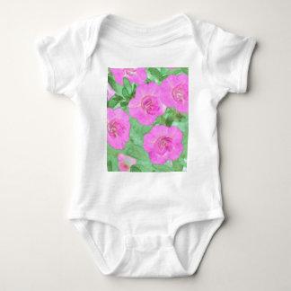 Painted Petunias Baby Bodysuit