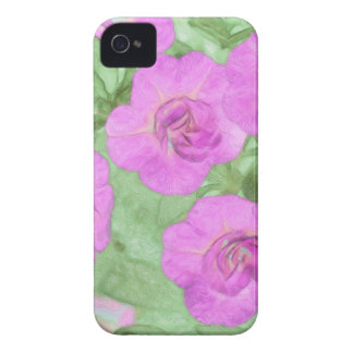 Painted Petunias iPhone 4 Cover