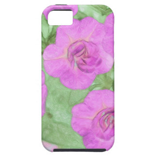 Painted Petunias iPhone 5 Case