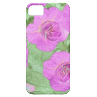 Painted Petunias iPhone 5 Cover