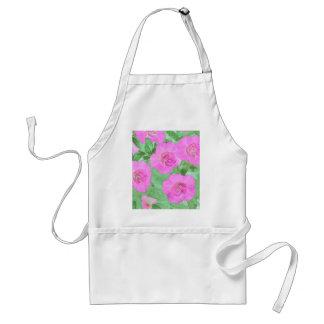 Painted Petunias Standard Apron