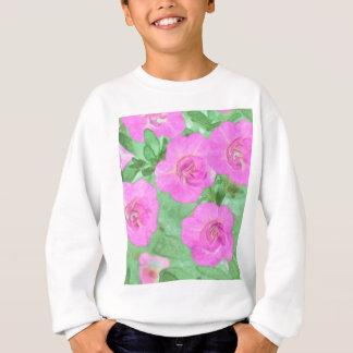 Painted Petunias Sweatshirt