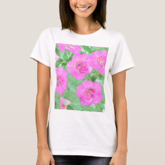 Painted Petunias T-Shirt