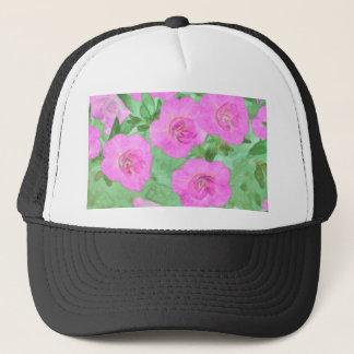 Painted Petunias Trucker Hat