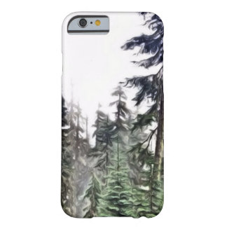 Painted pine barely there iPhone 6 case
