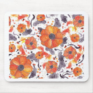 Painted Poppies Mousepad