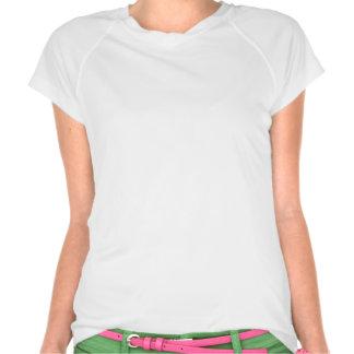 Painted Poppy Ladies Performance Micro-Fiber Sleev T-shirts