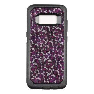 Painted Purple Animal OtterBox Commuter Samsung Galaxy S8 Case