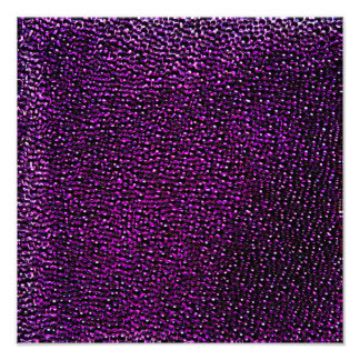 Painted purple gems photo print