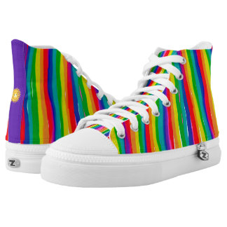 Painted Rainbows High Tops