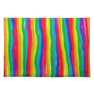 Painted Rainbows Placemat