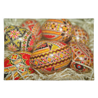 Painted Romanian Easter Eggs Placemat
