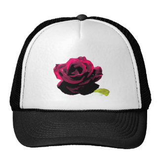 Painted Rose Trucker Hat