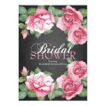 Painted Roses Bridal Shower Invitation