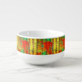Painted Saguaro Soup Mug