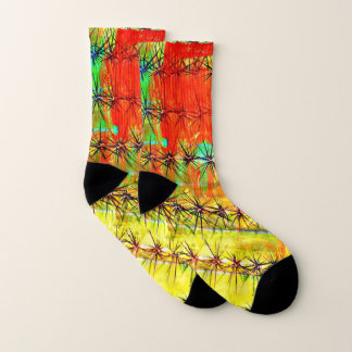 Painted Saguaro Unisex Socks 1