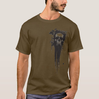 Painted Skull T-Shirt